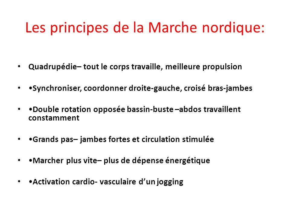 Les principes de la Marche nordique:
