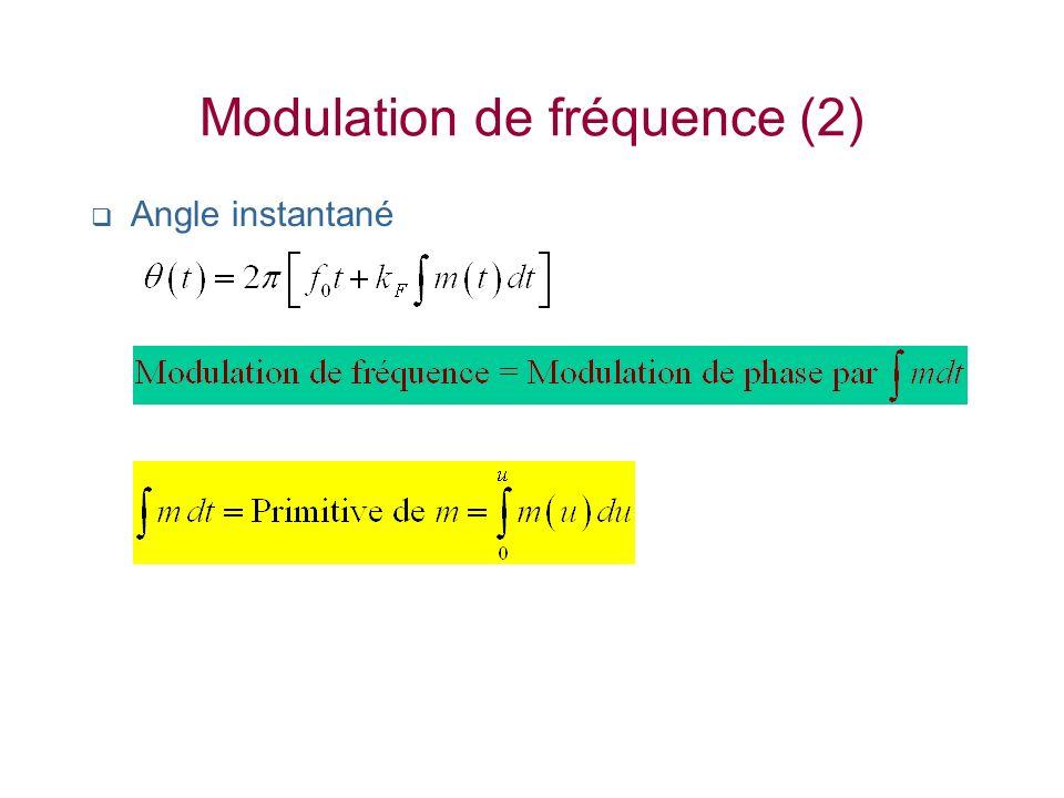 Modulation de fréquence (2)