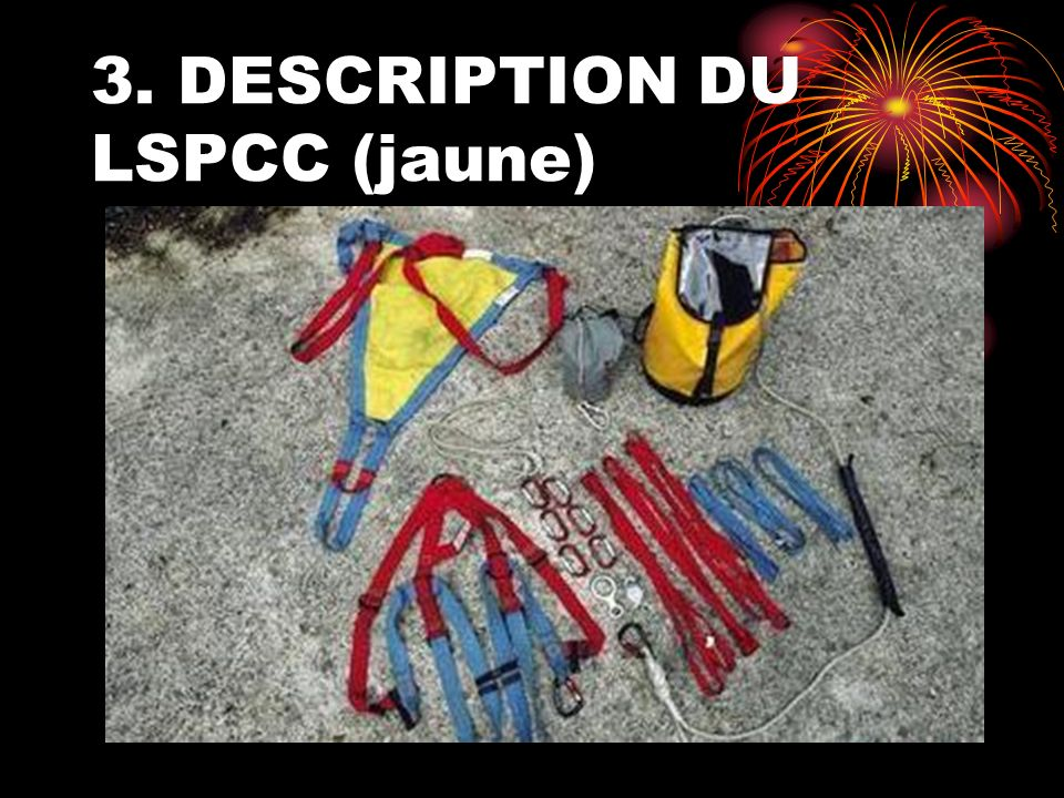 3. DESCRIPTION DU LSPCC (jaune)