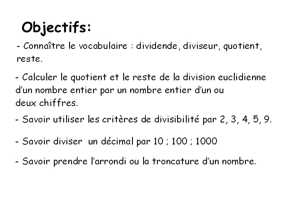 Objectifs: aaaaaa
