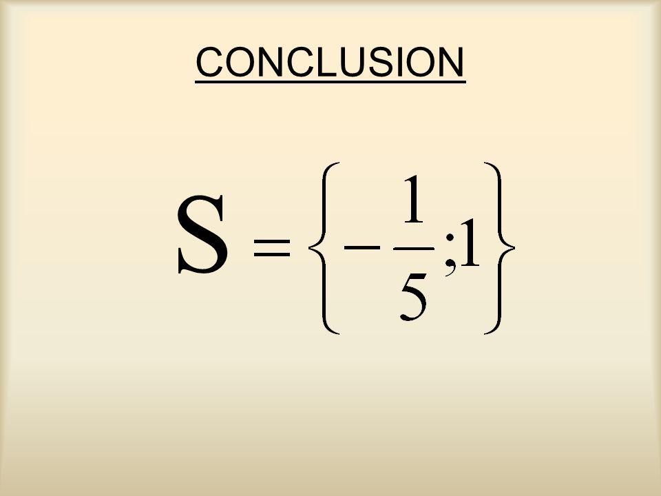 CONCLUSION S