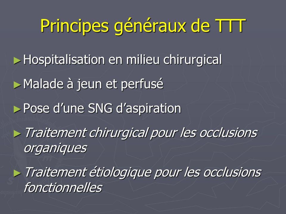 Principes généraux de TTT