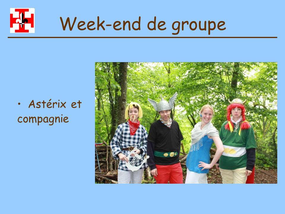 Week-end de groupe Astérix et compagnie