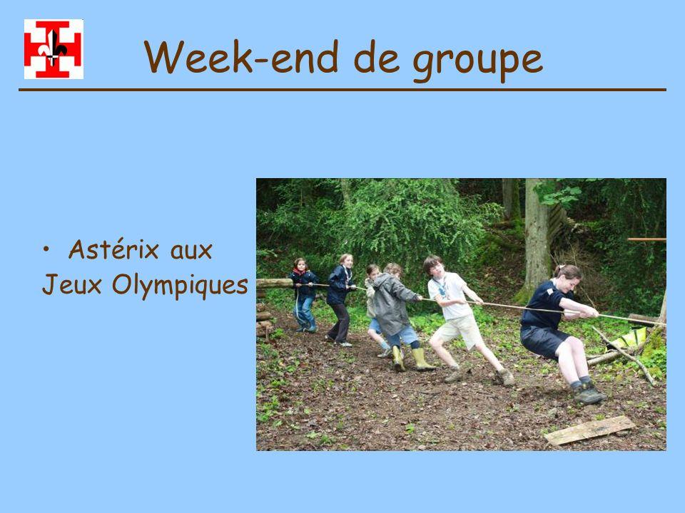 Week-end de groupe Astérix aux Jeux Olympiques