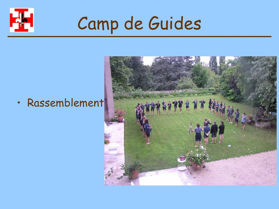 Camp de Guides Rassemblement