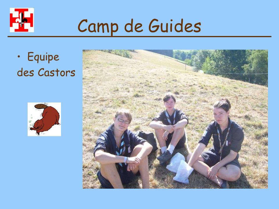 Camp de Guides Equipe des Castors