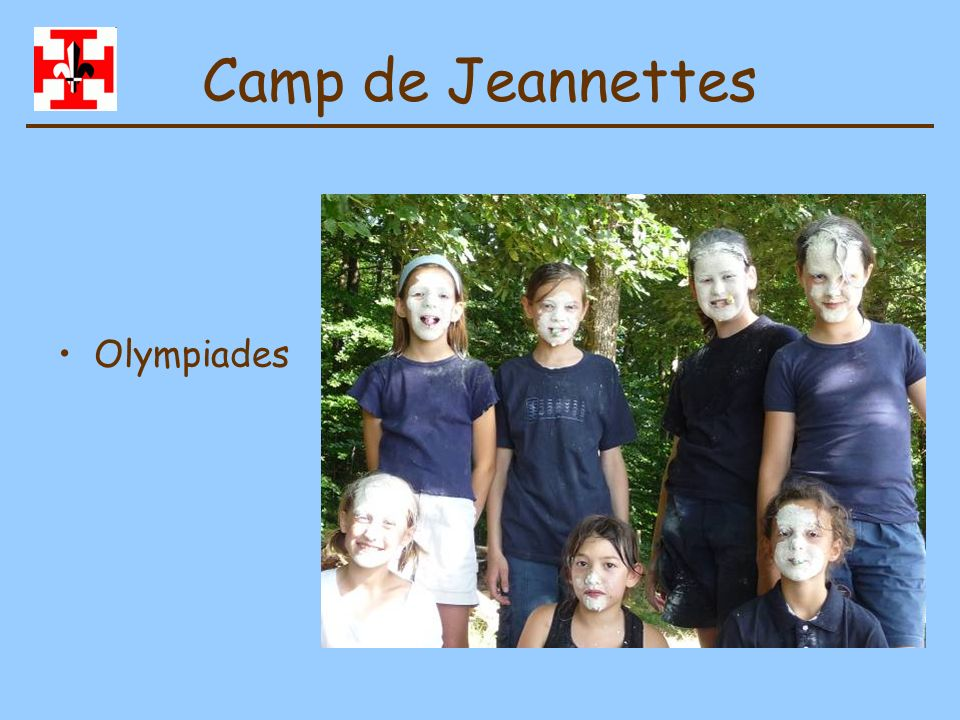 Camp de Jeannettes Olympiades