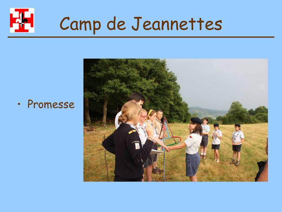 Camp de Jeannettes Promesse