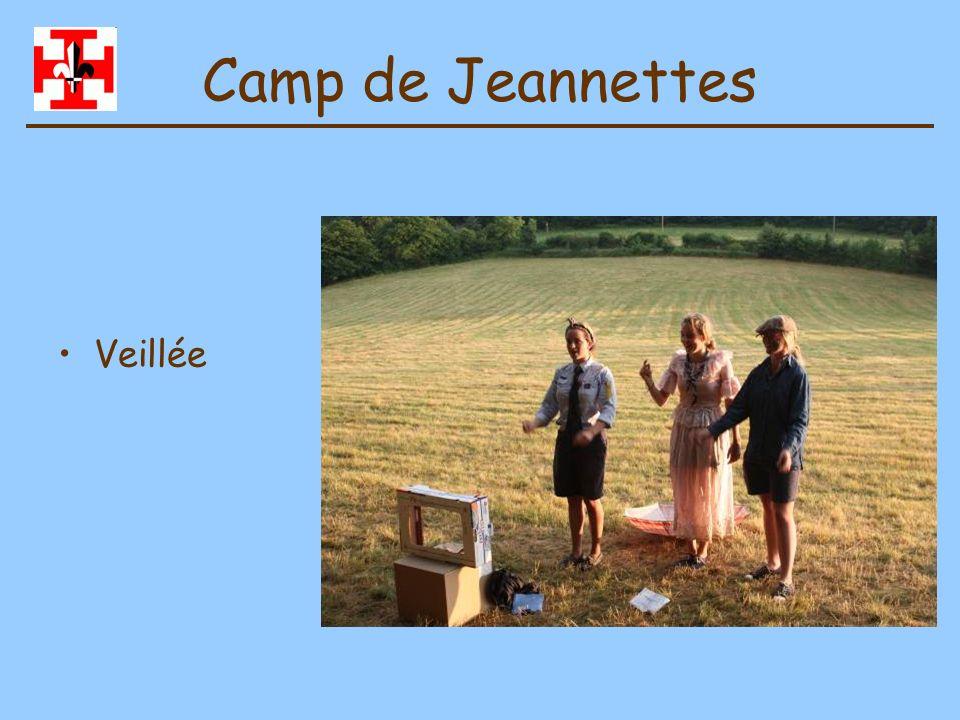 Camp de Jeannettes Veillée