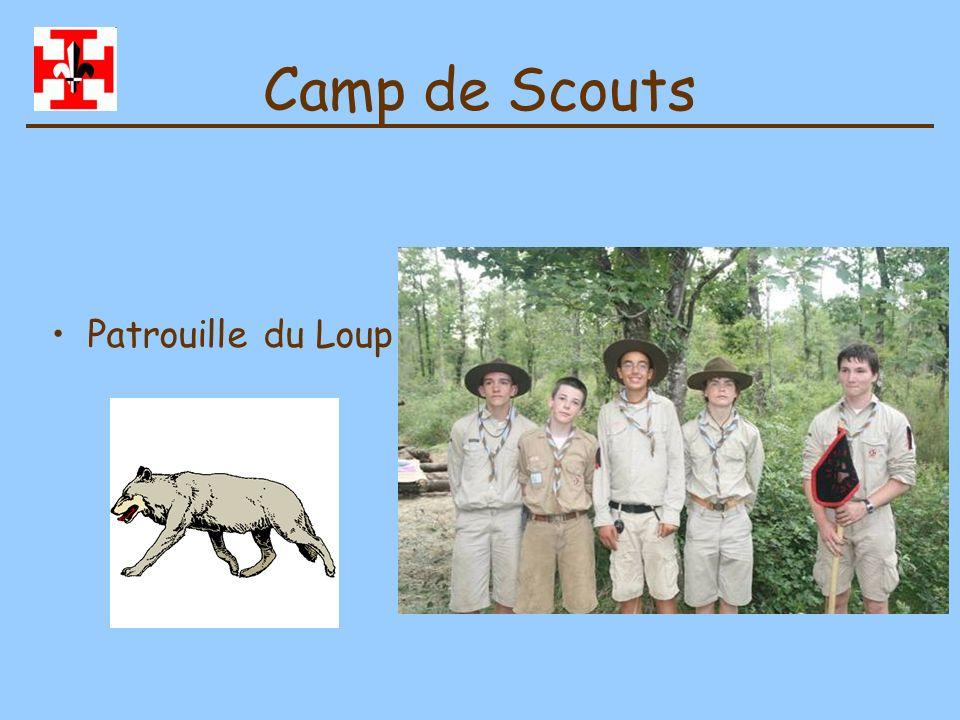 Camp de Scouts Patrouille du Loup