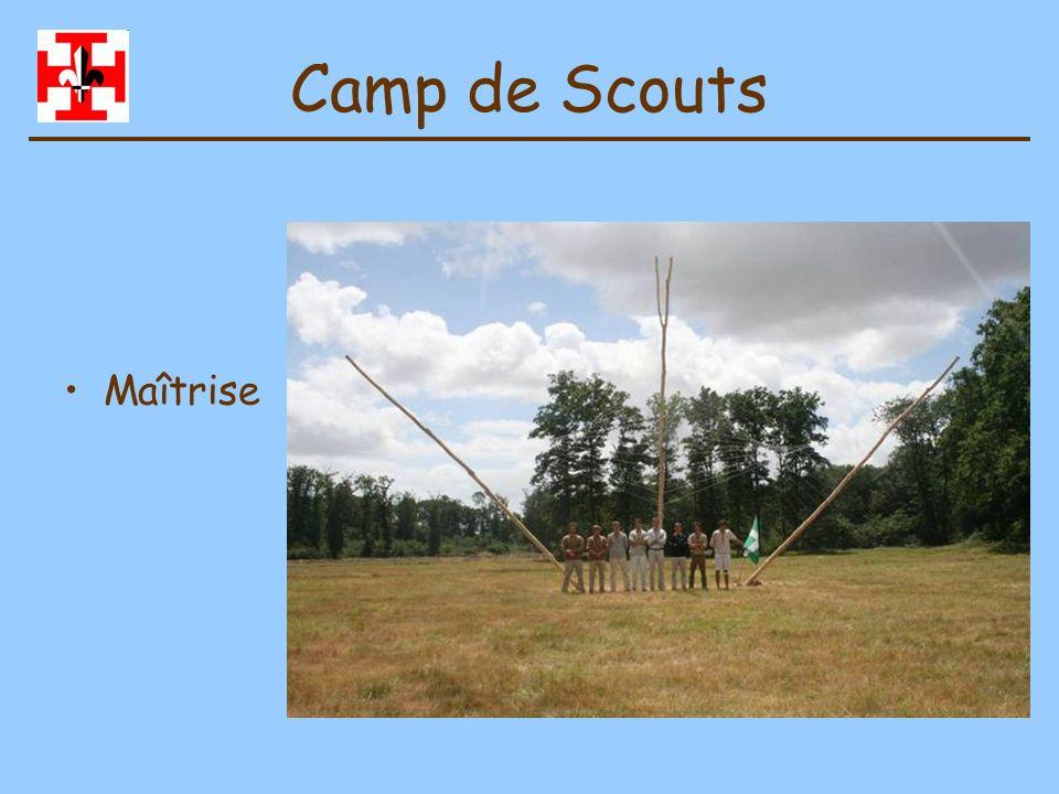 Camp de Scouts Maîtrise