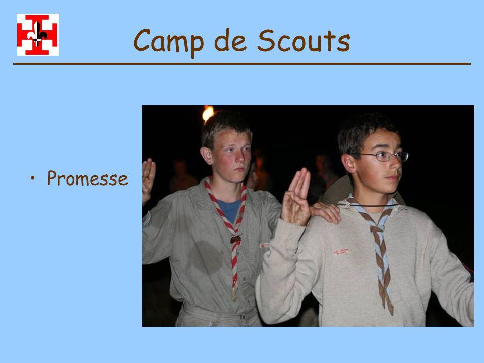 Camp de Scouts Promesse