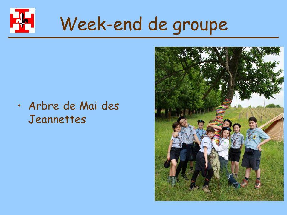 Week-end de groupe Arbre de Mai des Jeannettes