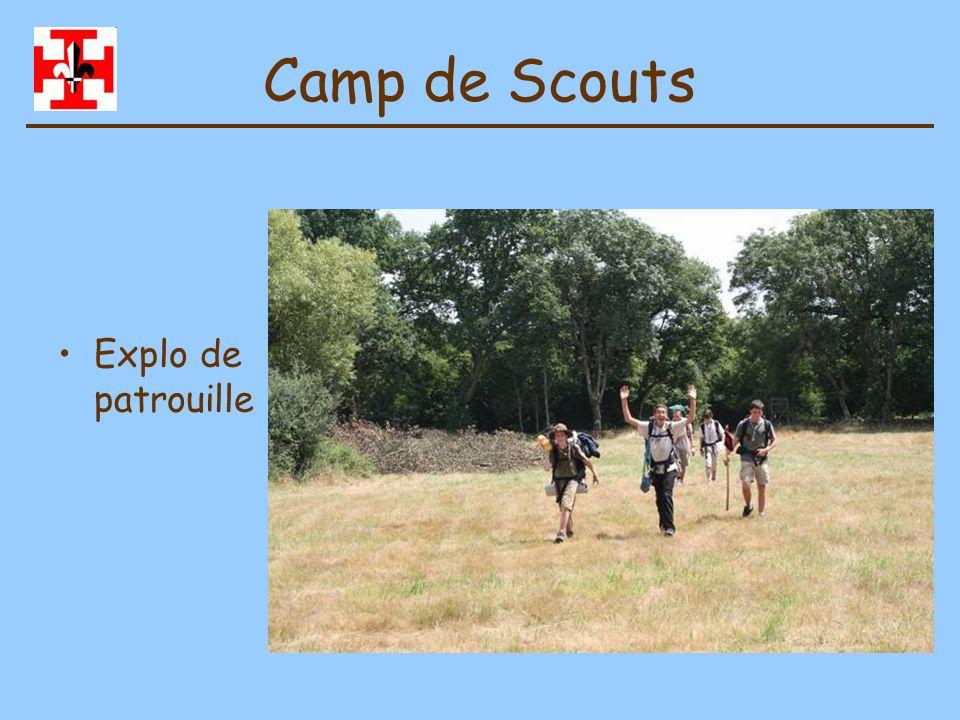 Camp de Scouts Explo de patrouille