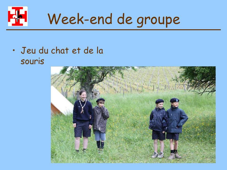 Week-end de groupe Jeu du chat et de la souris