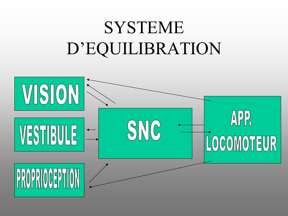 SYSTEME D'EQUILIBRATION