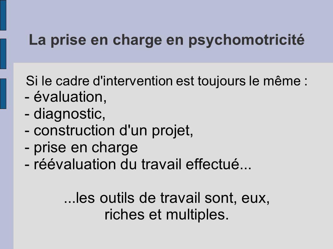 La prise en charge en psychomotricité