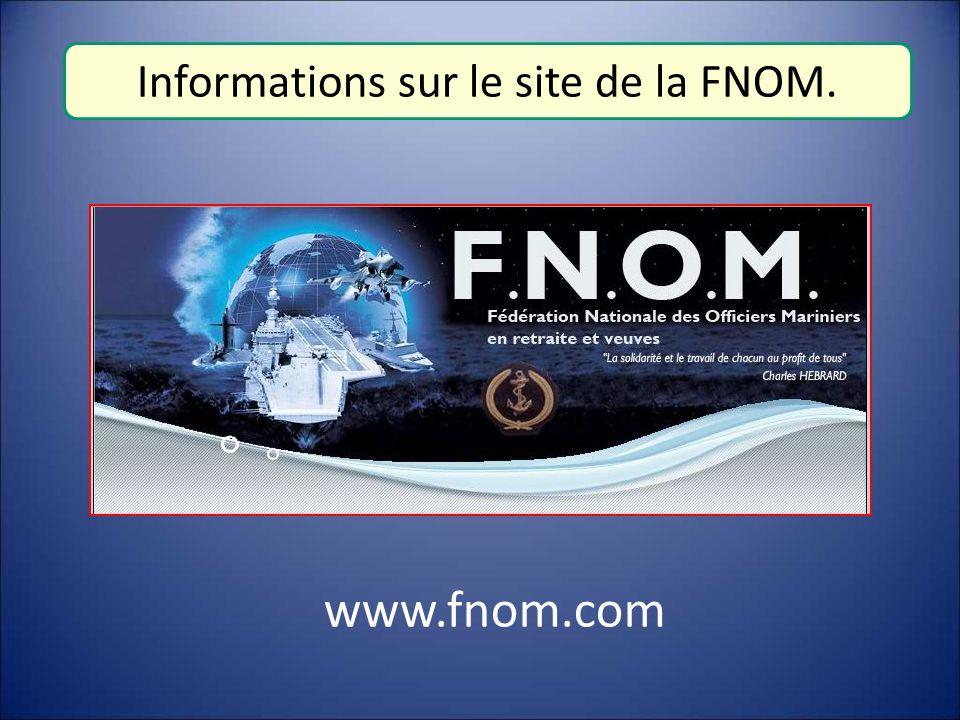 Informations sur le site de la FNOM.
