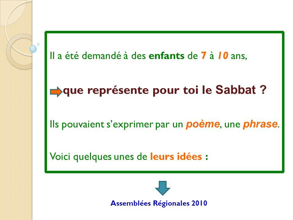que représente pour toi le Sabbat