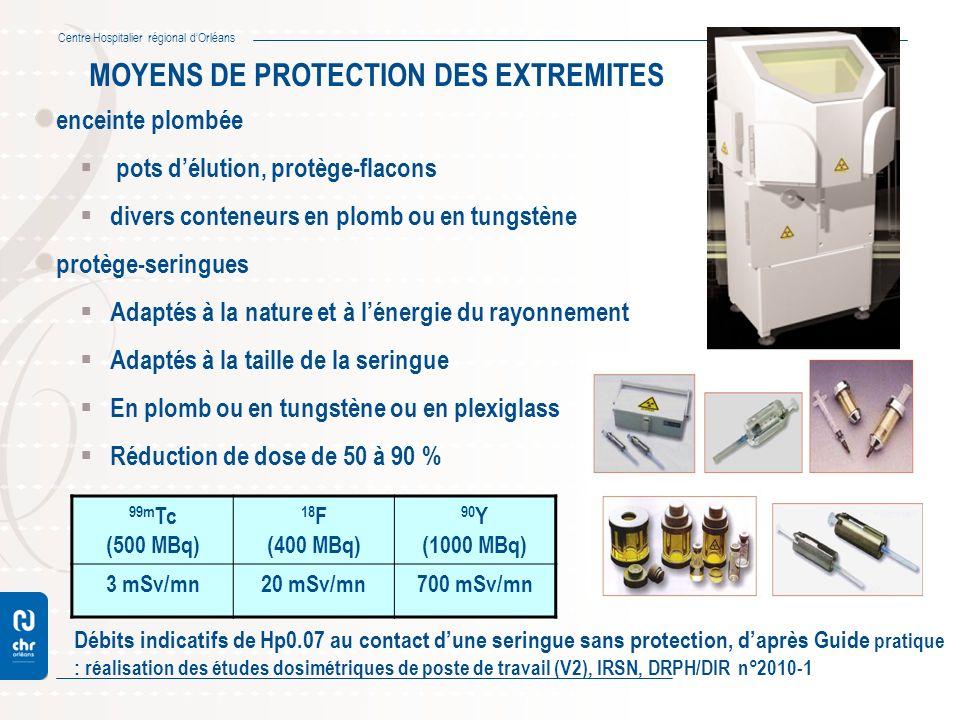 MOYENS DE PROTECTION DES EXTREMITES