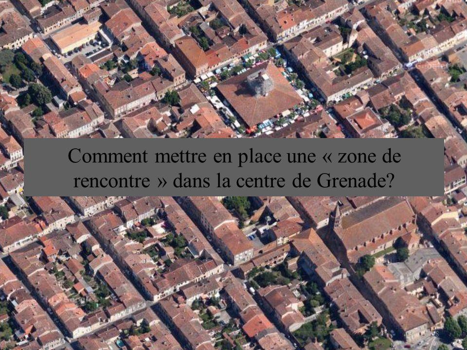 Comment mettre en place une « zone de rencontre » dans la centre de Grenade