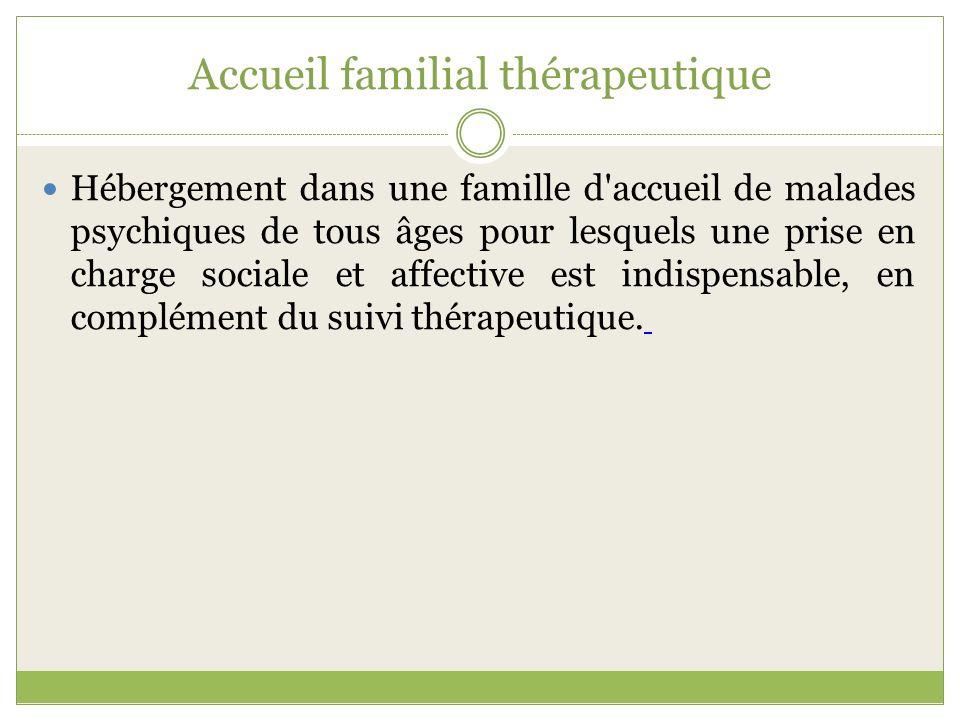 Accueil familial thérapeutique