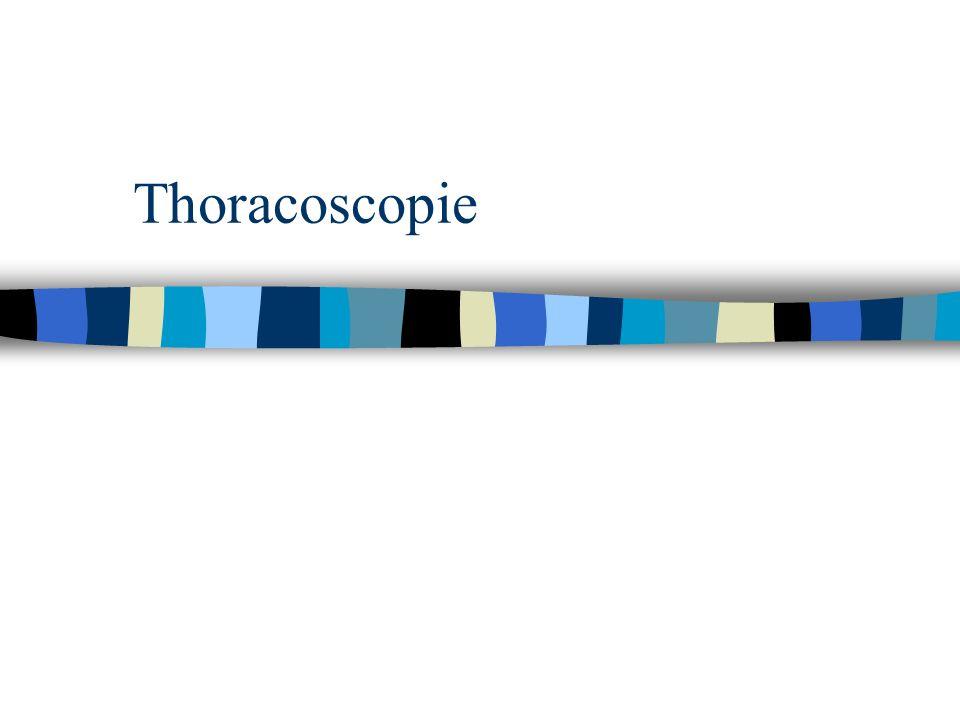 Thoracoscopie