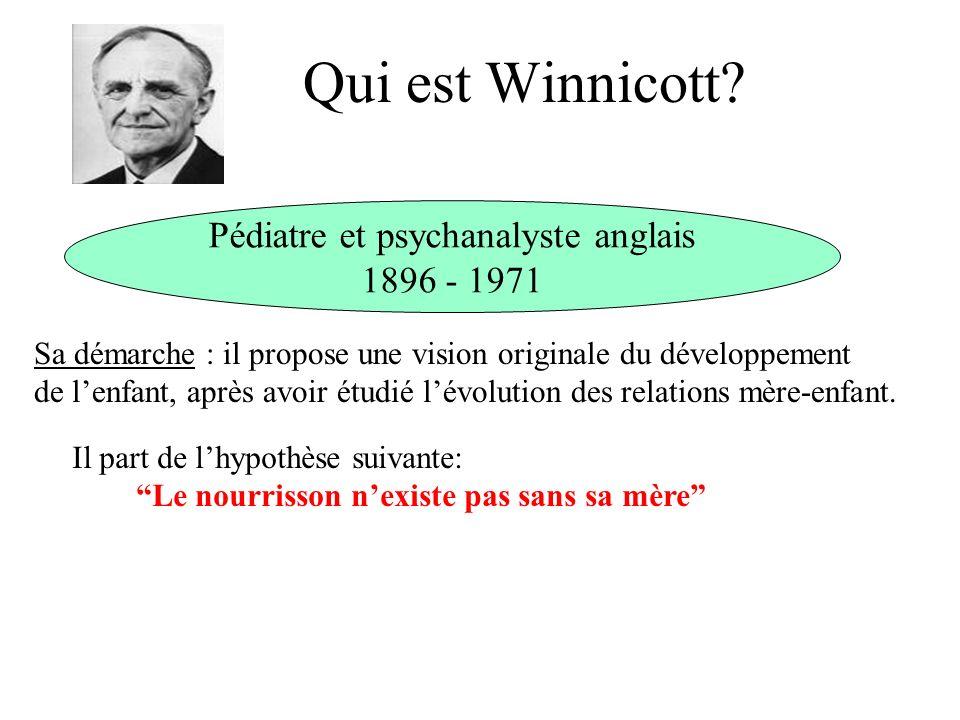 Pédiatre et psychanalyste anglais