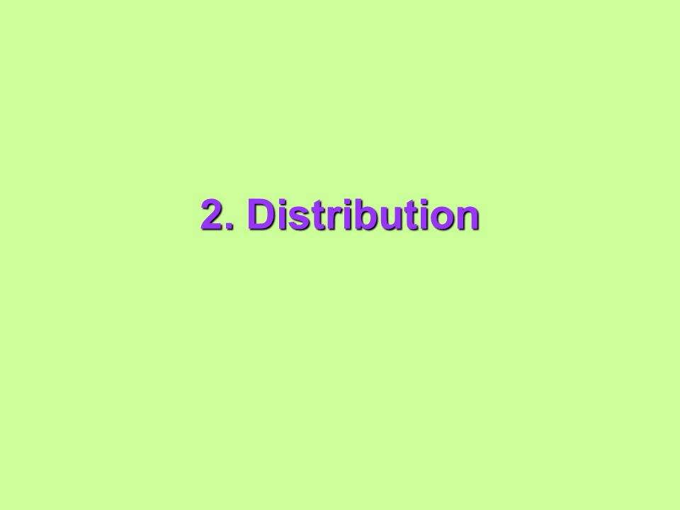 2. Distribution
