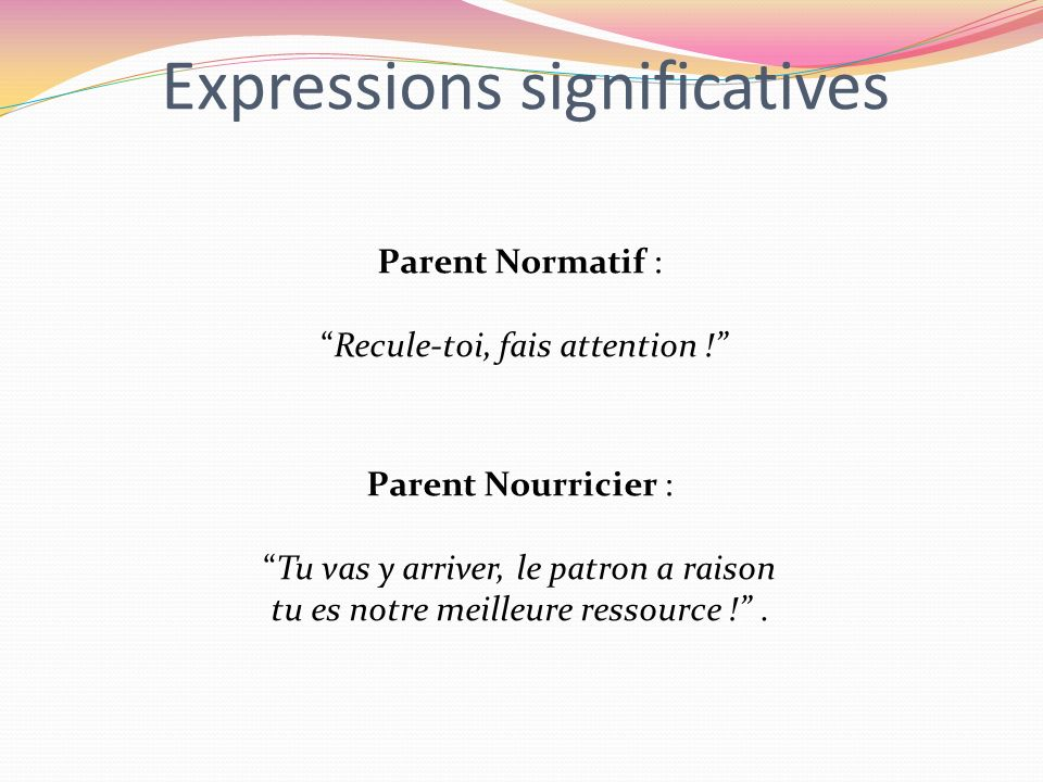 Expressions significatives