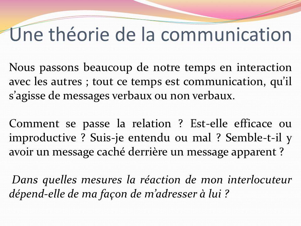 Une théorie de la communication