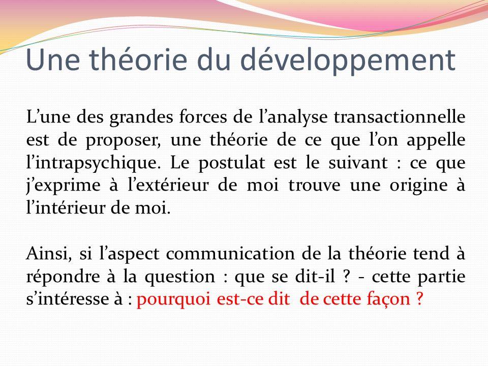Une théorie du développement