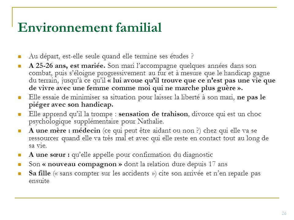 Environnement familial