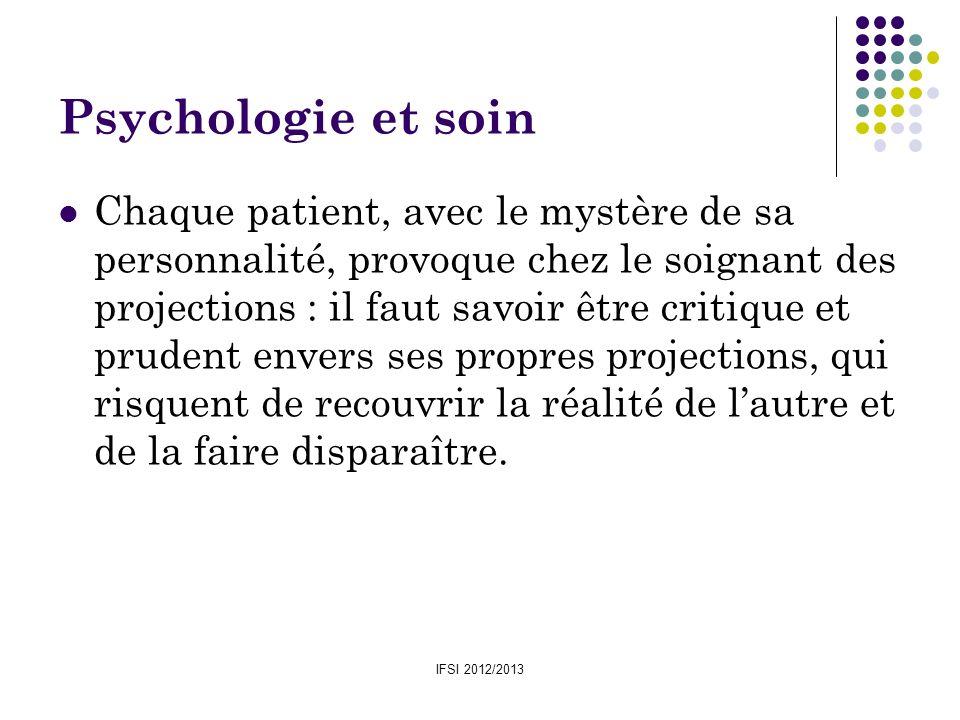 Psychologie et soin