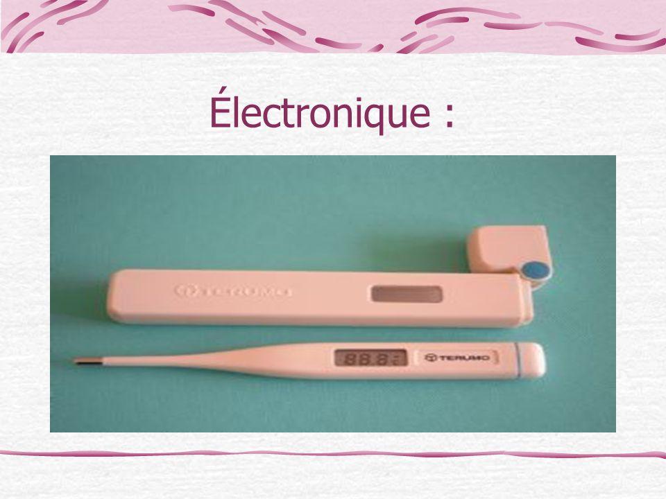 Électronique :