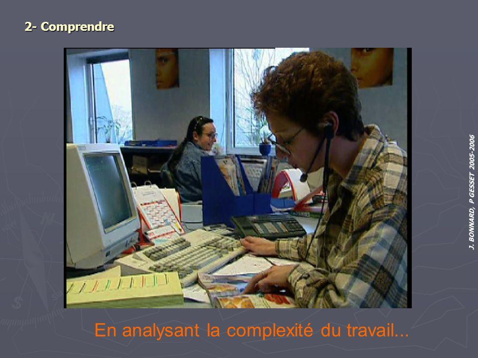 En analysant la complexité du travail...