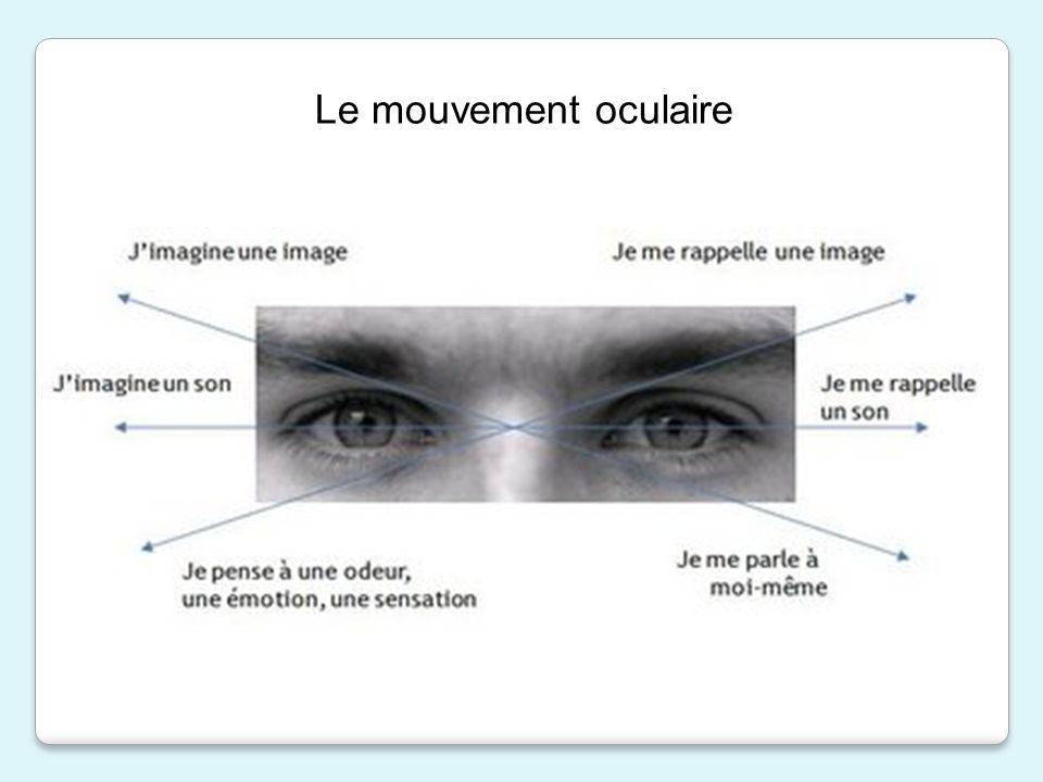 Le mouvement oculaire