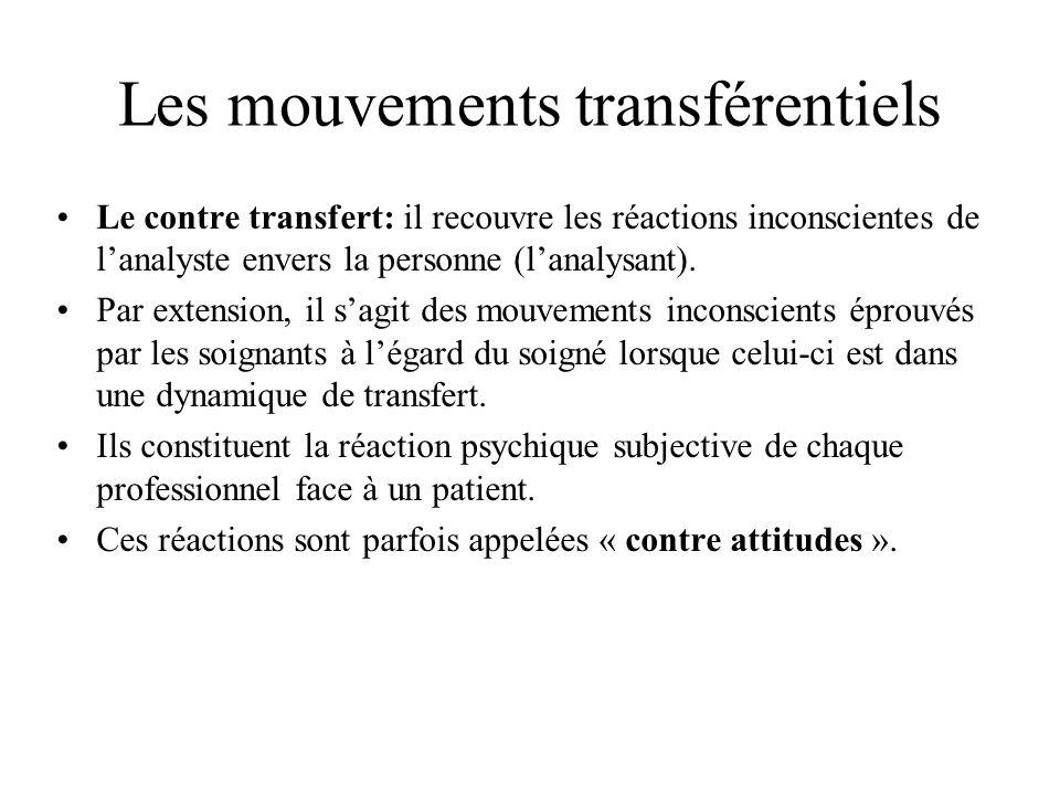 Les mouvements transférentiels
