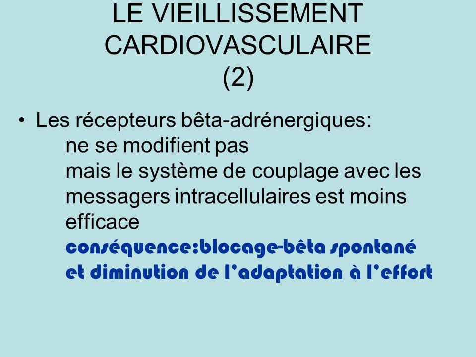LE VIEILLISSEMENT CARDIOVASCULAIRE (2)