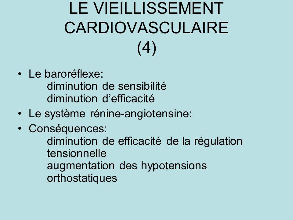 LE VIEILLISSEMENT CARDIOVASCULAIRE (4)