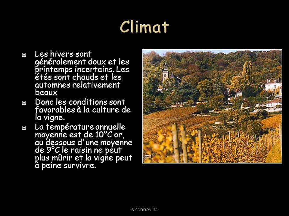 Climat Les hivers sont généralement doux et les printemps incertains. Les étés sont chauds et les automnes relativement beaux.