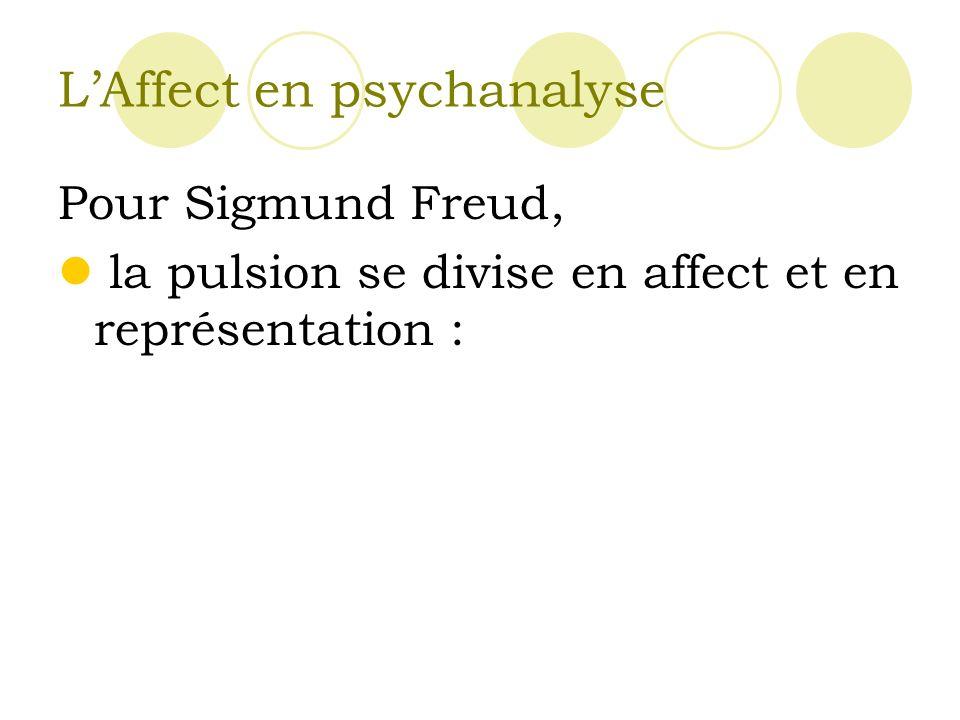L'Affect en psychanalyse