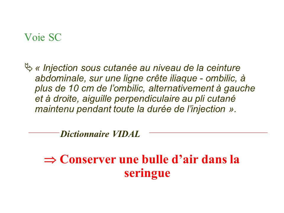 Soins infirmiers aupr s de la personne sous traitement anticoagulant ppt video online t l charger - La bulle d air ...