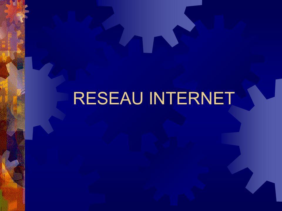 RESEAU INTERNET