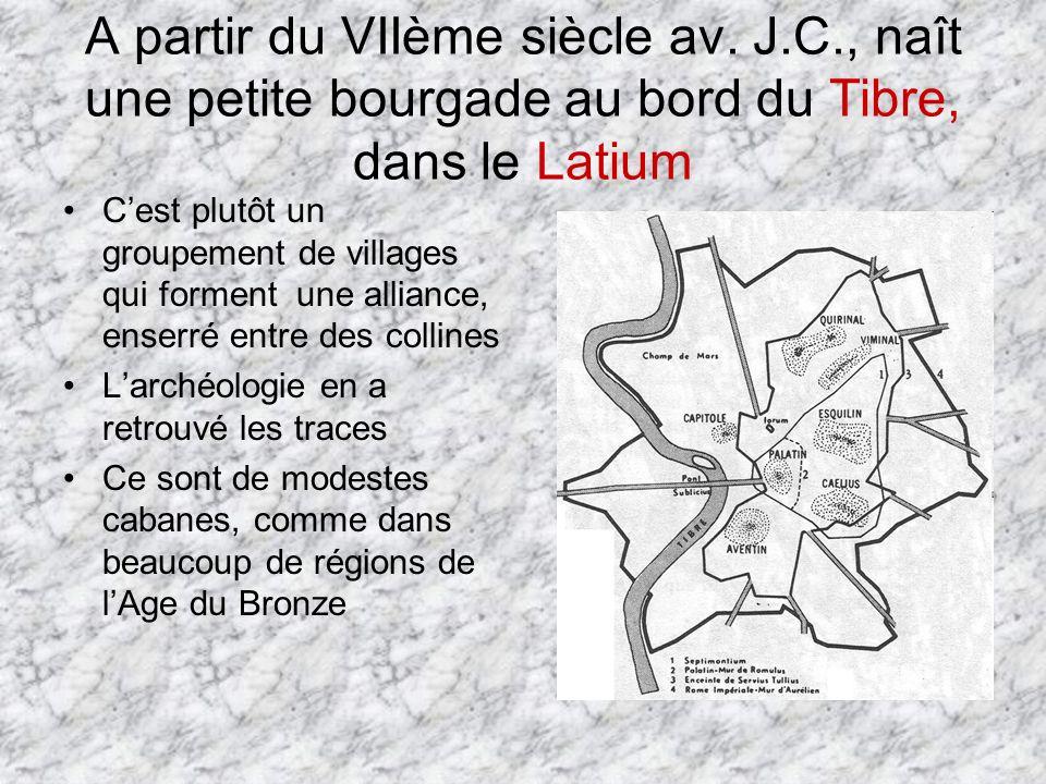 A partir du VIIème siècle av. J. C