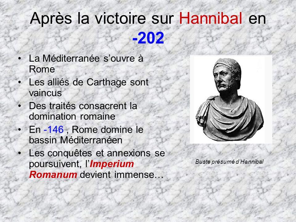 Après la victoire sur Hannibal en -202