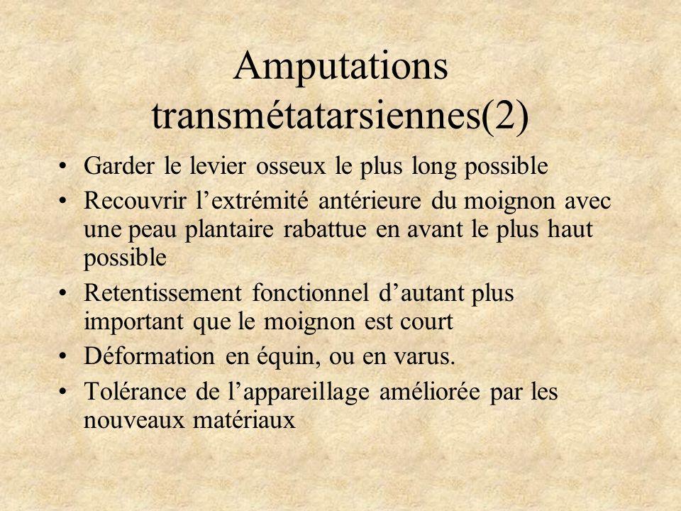 Amputations transmétatarsiennes(2)