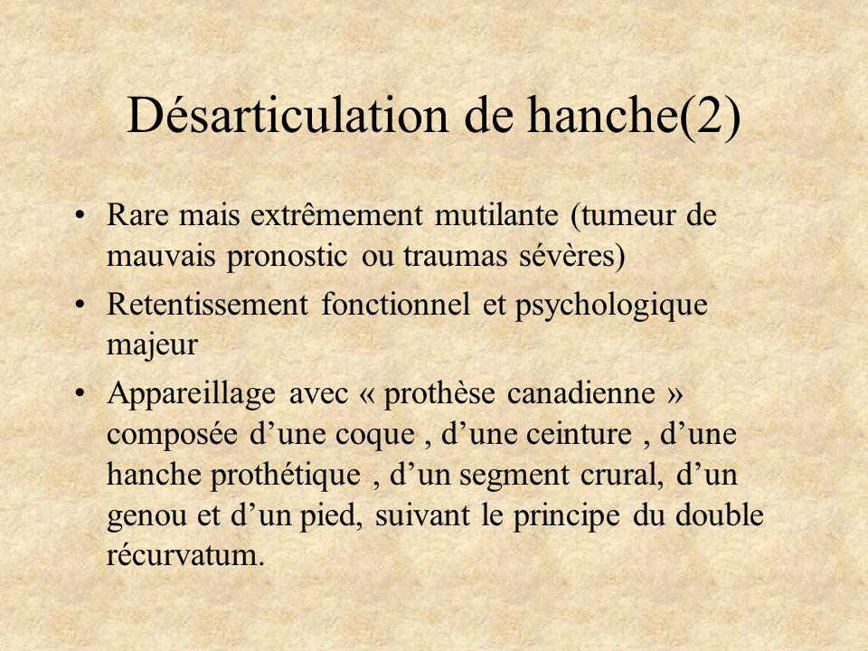 Désarticulation de hanche(2)