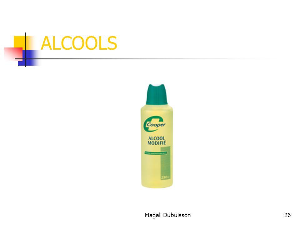ALCOOLS Magali Dubuisson