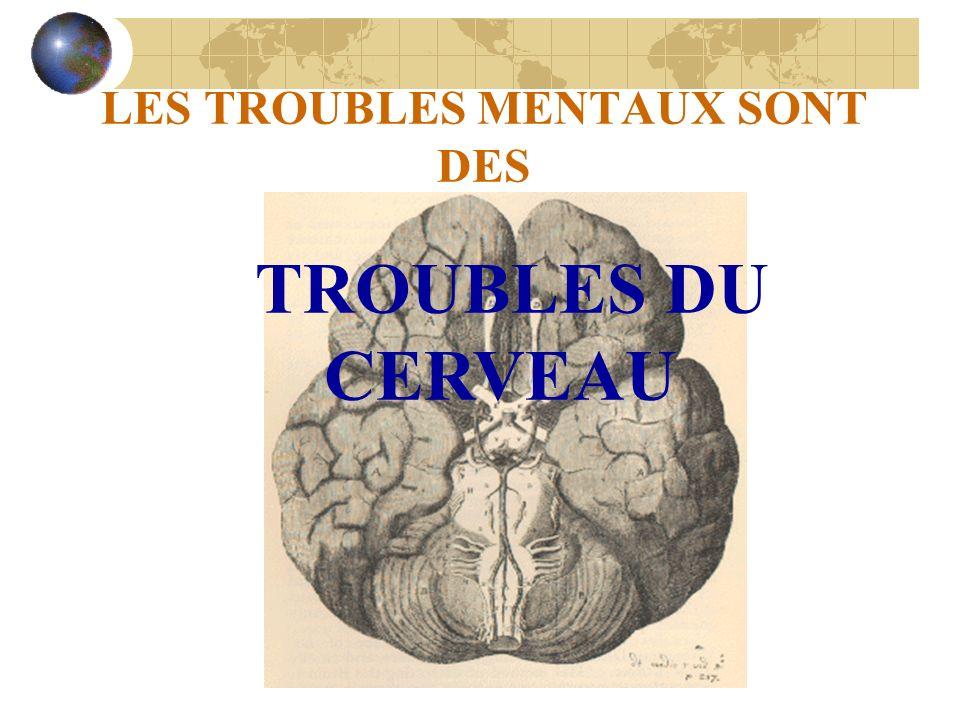 LES TROUBLES MENTAUX SONT DES